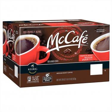 McCafe Premium Roast Coffee (100 K-Cups)  Free shipping