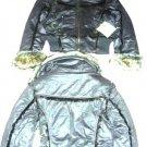 Girls Route 66 Coat Jacket Faux Fur Brown 10 12