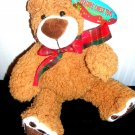 Treasure Chest Toys Brown Bear Plush Stuffed New