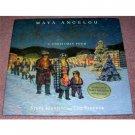 Amazing Peace Maya Angelou Hardback and CD New