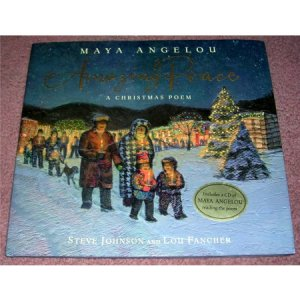 Amazing Peace Maya Angelou Hardback and CD New