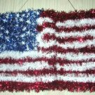 Patriotic Fourth of July Wall Hanging Flag New