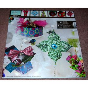 Die Cut Ornament Pad Patterns Book By K Marcella New