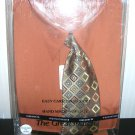 Mens Dress Shirt and Tie Set Knightsbridge Rust New