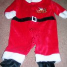 Santa Suit Carter's Just One Year 1 Piece 0-3 Months