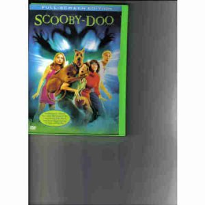 Scooby Doo Full Screen DVD