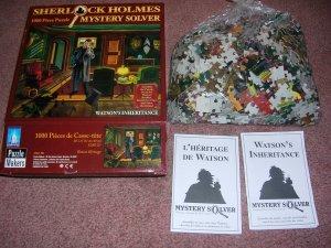 Sherlock Holmes Mystery Solver Jigsaw Puzzle 1000 Piece