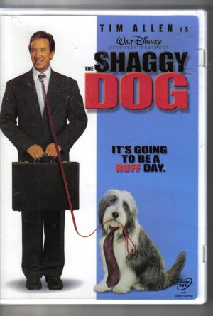 The Shaggy Dog Walt Disney Tim Allen