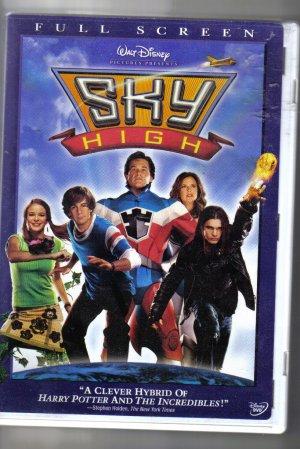 Walt Disney Sky High Full Screen DVD