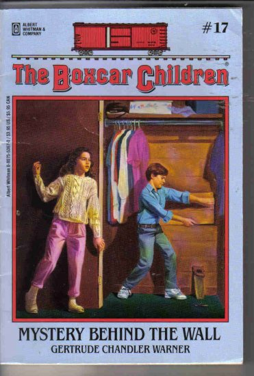 The Boxcar Children #17 Mystery Behind The Wall by Warner