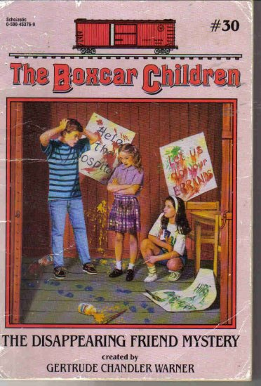 The Boxcar Children #30 The Disappearing Friend Mystery by Warner