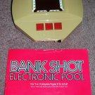 Vintage Handheld Electronic Pool Game Bank Shot Parker Brothers