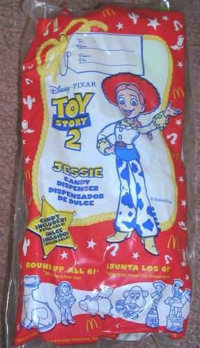 McDonald's Toy Story 2 Candy Dispenser Jessie