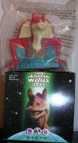 Star Wars Episode 1 Jar Jar Binks Squirter Pizza Hut KFC Taco Bell