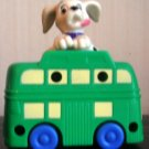 McDonalds 101 Dalmatians Dog Green Bus