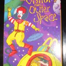 Wacky Adventures of Ronald McDonald Visitors from Outer Space VHS