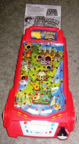 Pokemon Thundershock Challenge Game Tiger Electronics