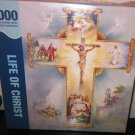 Life Of Christ 1000 Piece Puzzle Interlocking Cross Springbok