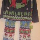 Sleepwear Christmas Pajamas Pjs Medium Wreath