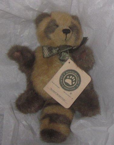 Boyds Bears Plush Bandit Bushytail Raccoon