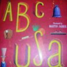 ABC USA Illustrated by Martin Jarrie Hardback NEW