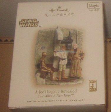 NIB Hallmark Keepsake Ornament Star Wars A Jedi Legacy Revealed Star Wars A New Hope