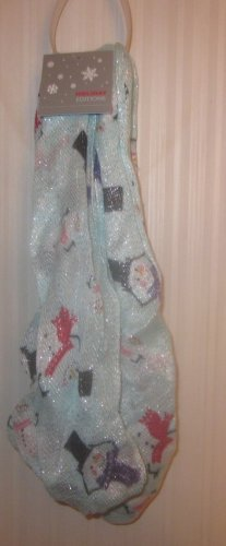 NWT Womens Snowman Infinity Scarf Holiday Editions