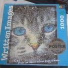 NIB Written Images 1000 Piece Puzzle Cat from Puss in Boots with Poster