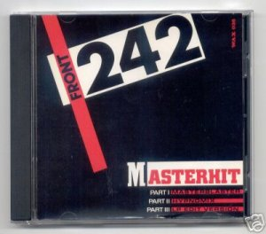 FRONT 242 - MASTERHIT - 1989 CD SINGLE wax trax