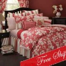 4PC Southern Bell Seasons Floral Garden Comforter Set CS6123KG