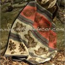 3PC Southwest Fall Adventure Pincones KING Fleece Bedding CBK1881