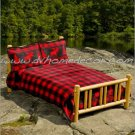 3PC Red Moose Creek Southwest QUEEN Fleece Bedding Set ERCBQ-moosecreek