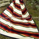 Southwestern American Heritage RED TWIN Fleece Blanket CB2125