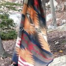 Southwestern Santa Fe Geometric TWIN Fleece Blanket CB1891
