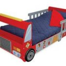Fire Truck Toddler Cot