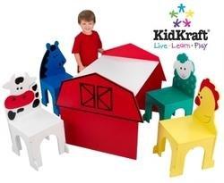 KidKraft Barnyard Table and Chair Set