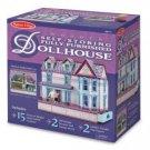 Melissa & Doug Self-Storing Fully Furnished Dollhouse