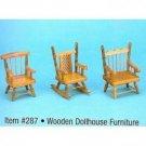 Mini Wooden Furniture Case Pack 96