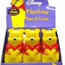 Disney Flashing Pencil Case in Pooh Case Pack 96