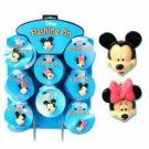 Disney 'Mickey & Minnie Flashing Pin On A Display Case Pack 120