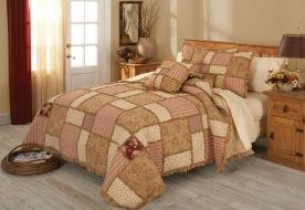 Isabelle Paisley Full / Queen Quilt with 2 Shams
