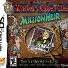 Nintendo Of America Mystery Case Files Millionheir