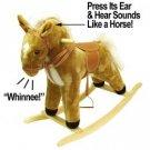 Plush Rocking Horse with Sound