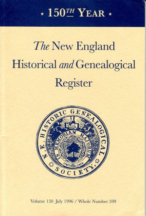 New England Historical and Genealogical Register #599