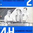 4-H Automotive Project 2: Maintenance and Operation (1964)