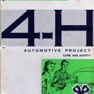 4-H Automotive Project 1: The Car and the Highway