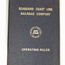 Seaboard Coast Line Railroad Operating Rules 1967 SCL RR