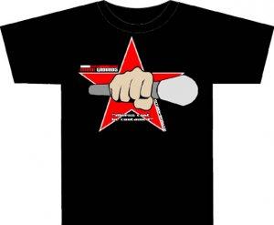 Urban Star (black Tee)