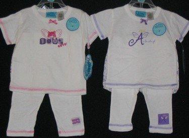Little Dreams Infant 4 pc Sleepwear Sets /LAST 50 pc Lot