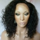 Custom order Remy Indian Hair Full Lace Wig 12""